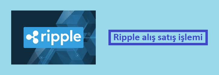 ripple alış satış