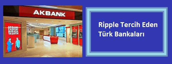 ripple Türk bankaları