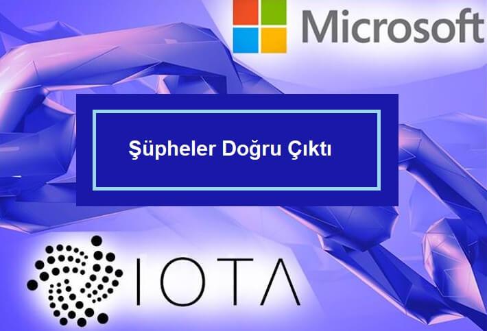 iota microsoft anlaşması