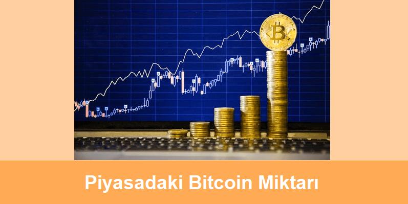 piyasadaki bitcoin miktarı