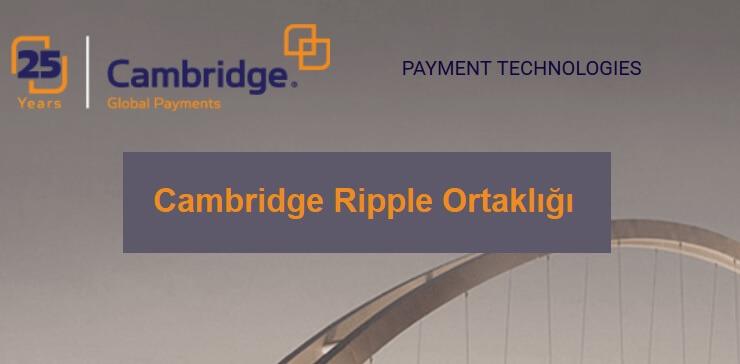 cambridge ripple ortaklığı